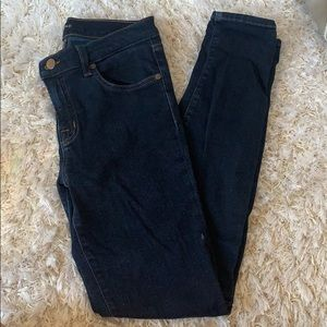 J Brand Dark Wash Super Skinny Jeans